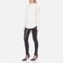 Helmut Lang Women's Stretch Leather Pants - Black: Image 4