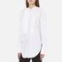 Helmut Lang Women's Raw Tuxedo Shirt - White/Multi: Image 2