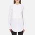 Helmut Lang Women's Raw Tuxedo Shirt - White/Multi: Image 1