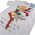 DC Bombshells Mens Supergirl T-Shirt - Grijs: Image 3