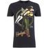DC Bombshells Mens Hawkgirl T-Shirt - Zwart: Image 1
