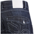 Crosshatch Men's Kanaster Denim Shorts - Dark Wash: Image 5