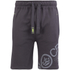 Crosshatch Men's Pacific Jog Shorts - Magnet: Image 1