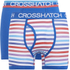 Crosshatch Men's Refraction 2-Pack Boxers - Classic Blue: Image 1