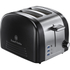 Russell Hobbs 18046 Ebony 2 Slice Toaster - Black: Image 1