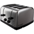 Russell Hobbs 18790 4 Slice Futura Toaster - Stainless Steel: Image 1