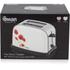 Swan ST16020POPN Poppy 2 Slice Toaster - White: Image 5