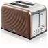 Swan ST19010TWN 2 Slice Twist Toaster - Copper: Image 1