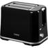 Tower T20009 2 Slice Toaster - Black: Image 1