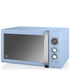 Swan Retro 25L Digital Combi Microwave with Grill - Blue: Image 1