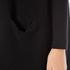 Paisie Women's Ribbed Knee Length Cardigan - Black: Image 5