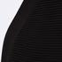Paisie Women's Ribbed Knee Length Cardigan - Black: Image 4