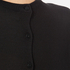 Paisie Women's Silk Panel Top with Back Button - Black: Image 7
