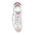 Lacoste Men's Misano 15 LCR SRM Trainers - Off White/Blue/Red: Image 3