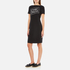 Boutique Moschino Women's Chic Dress T-Shirt Dress - Black: Image 2