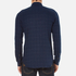 Folk Men's Checked Long Sleeve Shirt - Navy Window Pane: Image 3