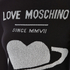 Love Moschino Women's Polo Neck Heart Jumper Dress - Black: Image 4