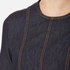 Love Moschino Women's Denim Fitted Dress - Denim: Image 6