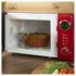 Akai A24006R 700W Digital Microwave - Red: Image 4