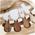 Natural Life Cheese Set with Cutting Board (4 Piece): Image 3