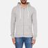 Tommy Hilfiger Men's Icon Zip Through Hoody - Grey Heather: Image 1