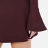 McQ Alexander McQueen Women's Volant Sleeve Dress - Port: Image 5