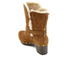 UGG Women's Brea Clog Suede Buckle Boots - Chestnut: Image 4