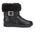 UGG Toddlers' Gemma Patent Leather Boots - Black: Image 1