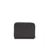 DKNY Women's Gansevoort Pinstripe Small Zip Around Purse - Black: Image 2