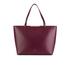 Ted Baker Women's Jailee Printed Lining Shopper Tote Bag - Grape: Image 1