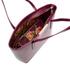 Ted Baker Women's Jailee Printed Lining Shopper Tote Bag - Grape: Image 5