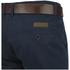 Smith & Jones Men's Ashlar Belted Slim Fit Chinos - Navy Twill: Image 3