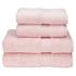 Christy Supreme Hygro 4 Piece Bath Towel & Bath Sheet Bundle - Pink: Image 1