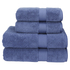 Christy Supreme Hygro 4 Piece Bath Towel & Bath Sheet Bundle - Deep Sea: Image 1