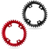 AbsoluteBLACK CX 110BCD 4 Bolt Shimano Spider Mount Oval Chain Ring: Image 1