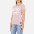 Superdry Women's MFG Original T-Shirt - Shocking Pink Slub: Image 2
