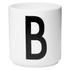 Design Letters Porcelain Cup - B: Image 1