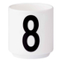 Design Letters Espresso Cup - 8: Image 1