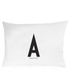 Design Letters Pillowcase - 70x50 cm - A: Image 1