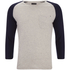 Produkt Men's 3/4 Sleeve Raglan Top - White Melange: Image 1