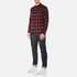Edwin Men's Labour Shirt - Red/Black: Image 4