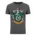 Harry Potter Men's Slytherin Shield T-Shirt - Grey: Image 1