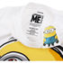 Minions Mens Dave T-Shirt - Wit: Image 3