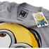 Minions Men's Dave T-Shirt - Grey Marl: Image 3