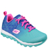 Skechers Kids' Skech Air Lite Trainers - Blue/Aqua: Image 1