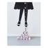 Design Letters Kids' Collection Measurewoman Wallsticker - Black: Image 3