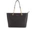 MICHAEL MICHAEL KORS Women's Jet Set Travel Chain TZ Tote Bag - Black: Image 1