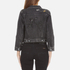 Marc Jacobs Women's Shrunken Denim Jacket - Black: Image 3