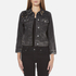 Marc Jacobs Women's Shrunken Denim Jacket - Black: Image 1