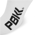 PBK Racing High Cuff Socks - White/Black/Grey: Image 4